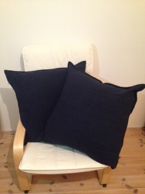 Khadi and Co. cushion cover